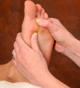 Man Reflexology