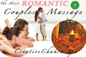 Creative Chakra Spa Couples commemorative spa packages