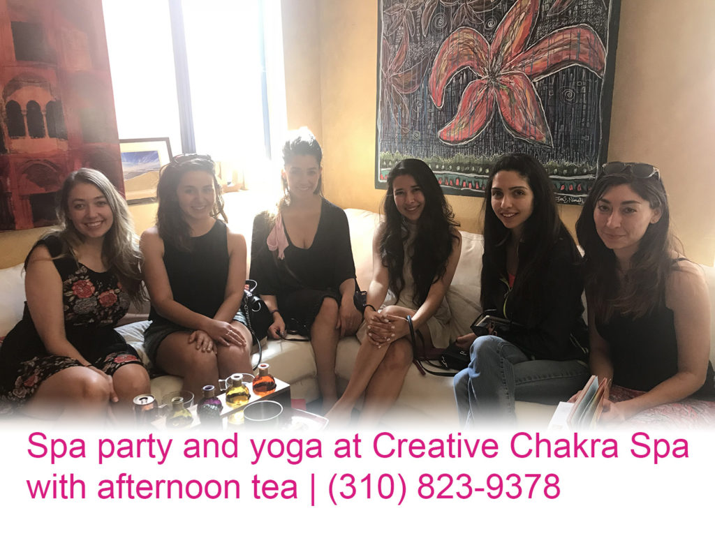 Creative Chakra Spa Party