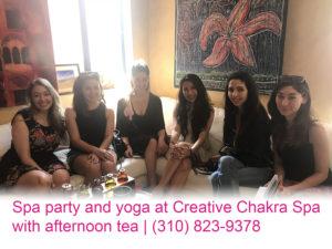 Creative Chakra Spa Party